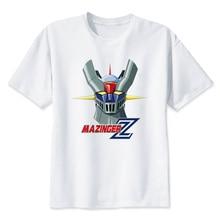 mazinger z 2019 Summer Fashion Men's Male T Shirt Casual Patchwork Short Sleeve T-Shirt Men Clothing Slim Fit Hip-Hop Top W1895