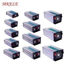 Pure Sine Wave Inverter 5V USB Output Cooling Fan12v 220v Solar Power Off Grid 300W-5000W Universal Or Customize Socket