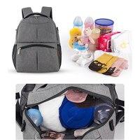 Fashion Mama Back Pack Bag Large Capacity Baby Care Bag Mom Backpack Desinger Nursing Bag for Stroller Outdoor Mochila Mamae