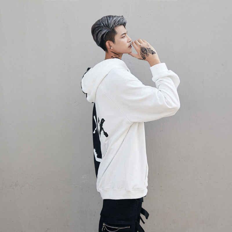 2019 แฟชั่นผู้ชายผู้หญิง Pullover เสื้อกันหนาว Hooded Casual เปลวไฟ Hoody WARM SMILE พิมพ์ Headwear Hoodie Hip Hop PLUS ขนาด
