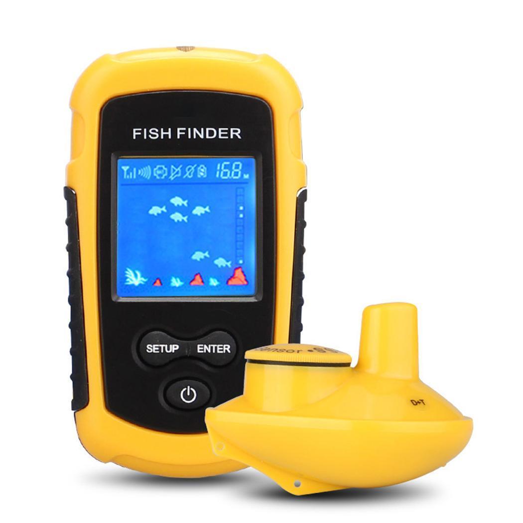 Durable Portable LCD Display Fishing Detector Outdoor Fishing 125KHz 0.7-40M -10-50 Locator 0.1m 100MDurable Portable LCD Display Fishing Detector Outdoor Fishing 125KHz 0.7-40M -10-50 Locator 0.1m 100M