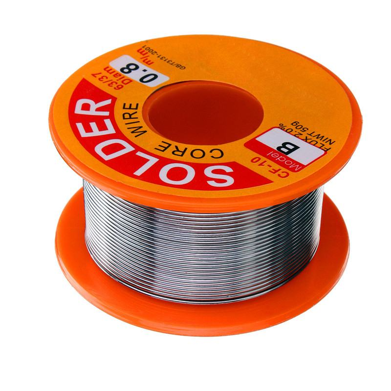 50g 0.8mm Tin Lead-free Rosin Core Solder Wire Flux for Electric Soldering Iron