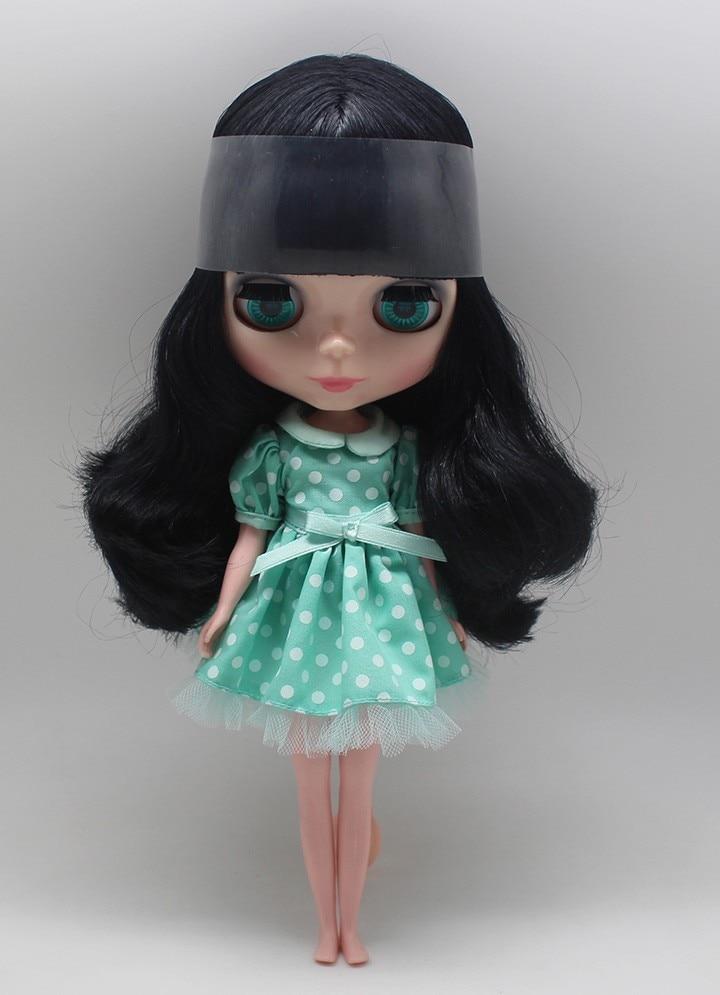 Neo Blythe Doll Polka Dot Princess Dress 9