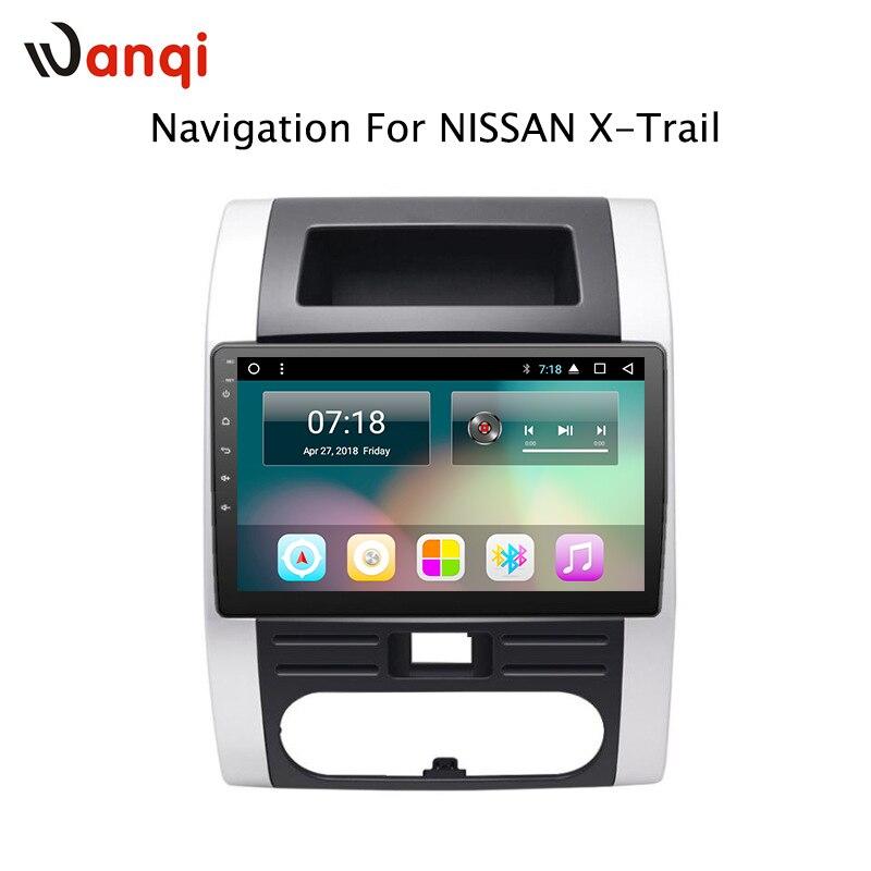 10.1 pouces Android 8.1 Voiture GPS Navigation Pour Nissan X-trail MX6 2008-2012 Soutien Stéréo Audio Radio vidéo Bluetooth