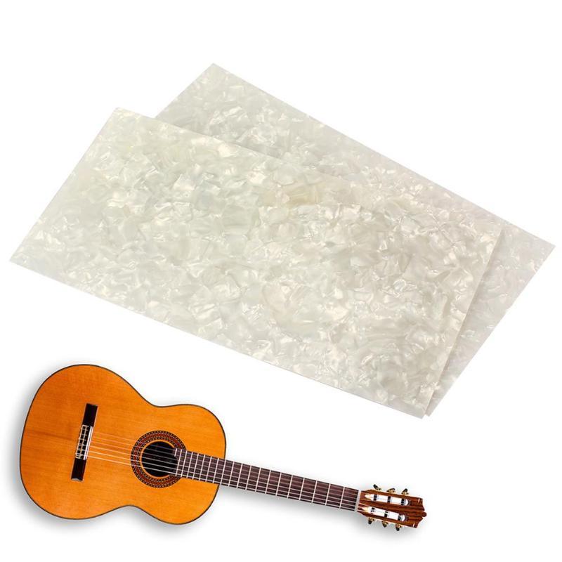 Stringed Instruments Tooyful Blackwood Guitar Fingerboard Head Veneer Luthier Material Parts