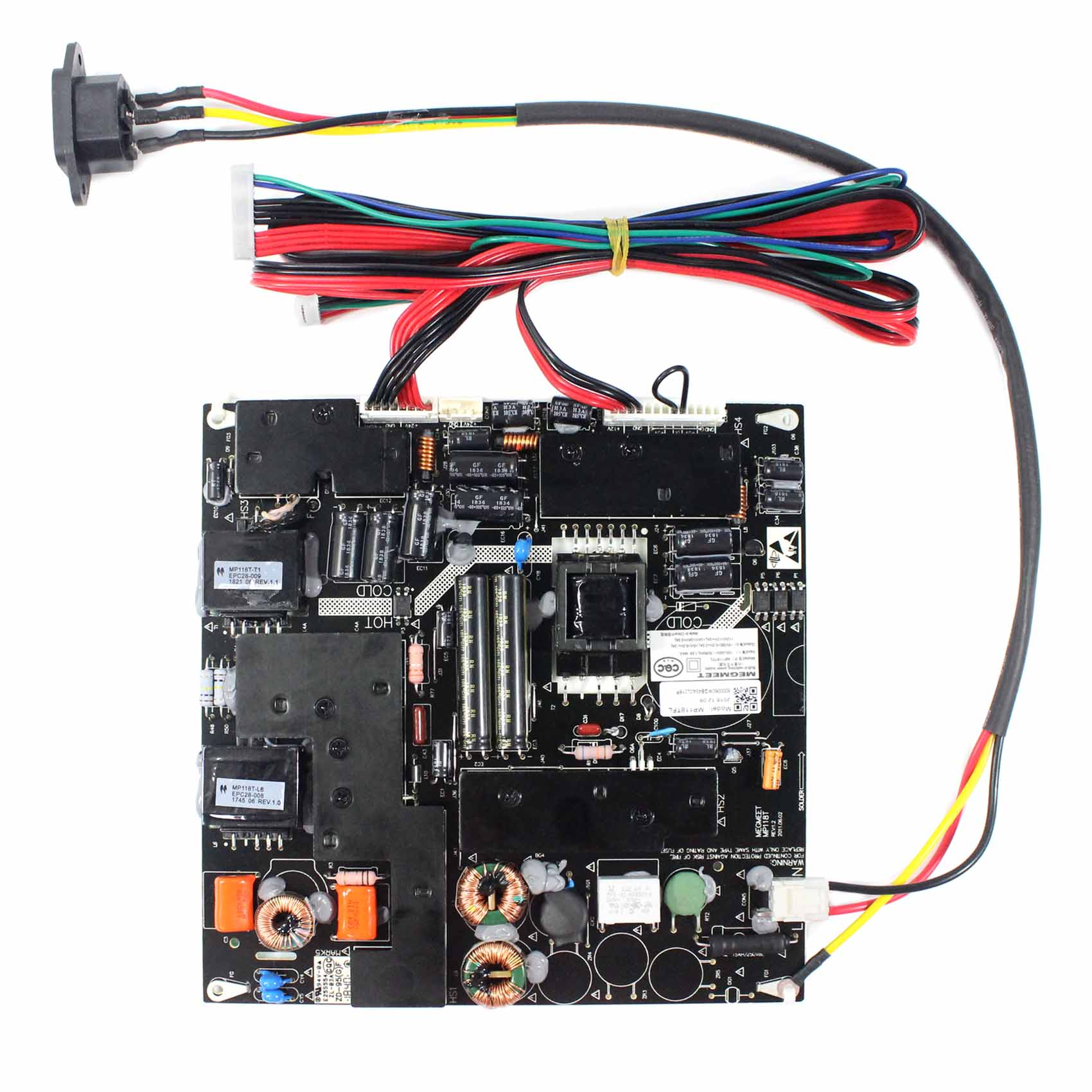 Power Supply Board For Backlight MP118TFL32 Compatible Work With 32 inch LCD Screen