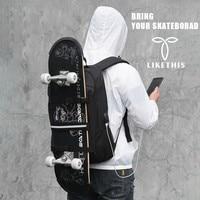 LIKETHIS 2019 Backpack School Bag For Laptop 15.6 Inch Travel Bag For Sport Skateboard Large Capacity Backpack Male Mochila B306
