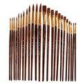 Кисти для рисования акриловыми масляными красками  12 шт.  акварельные ручки для художников по номерам  товары для рукоделия  модели  акварел...