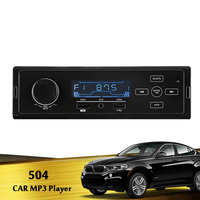 12V Bluetooth Auto Car Radio 1DIN Stereo Audio MP3 Player FM Radio Receiver Support Aux Input USB MMC with Remote Control