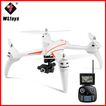 Original WLtoys Q696-A Q696 5.8G FPV 1080P Camera 2-axis Gimbal Air Press Altitude Hold RC Quadcopter Q969-E ZLRC цена 2017