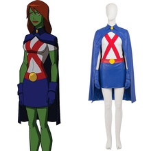 Miss martian nude cosplay excellent and