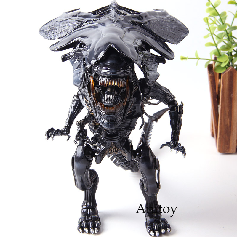 Инопланетяне Гибридный Металлический фигурный #047 внеземная королева ПВХ инопланетянин фигурка Коллекционная модель игрушки