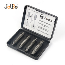 цена на JelBo Damaged Screw Extractor Drill Bit Set for Speed Out Easy Out Broken Metal Bolt Remover Screw Extractor Drill Bits Tool Kit