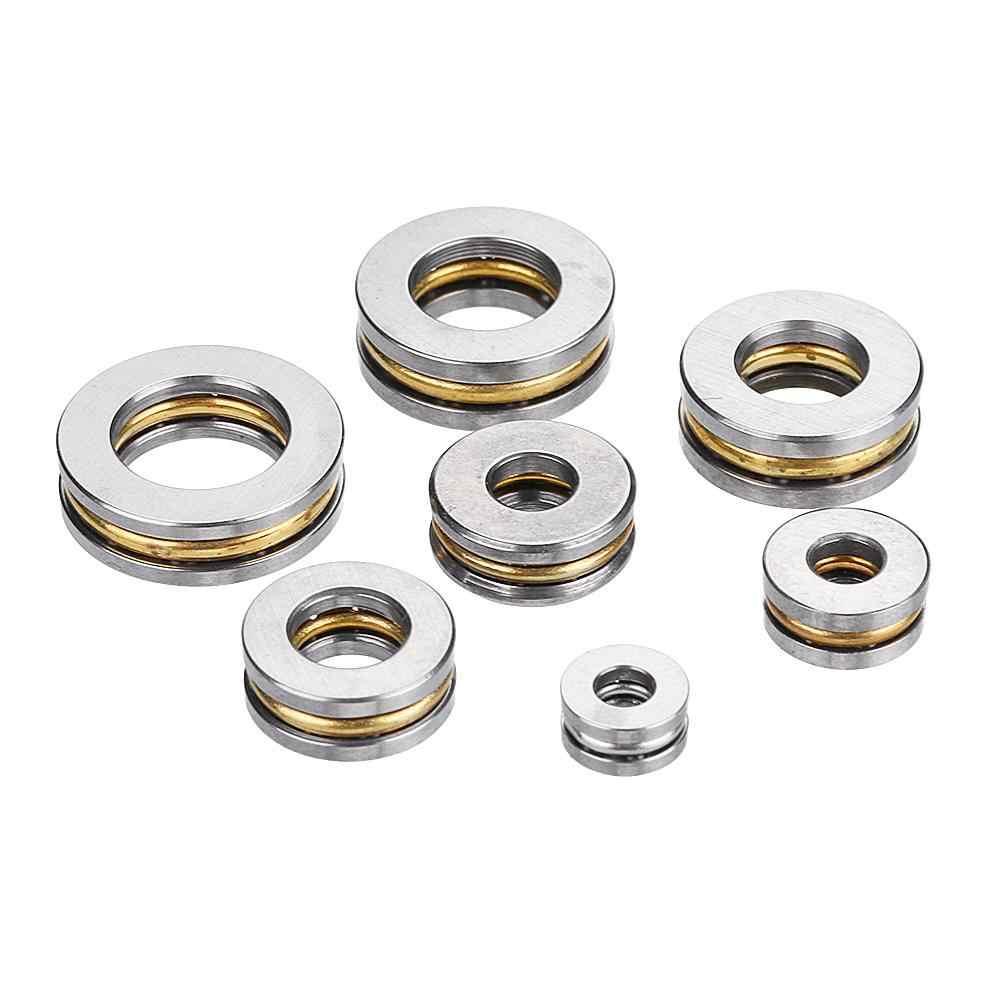 5 adet Düz Itme Rulman ID. 2.5/3/4/6/7/8mm Mini Minyatür Rulmanlar F25-6/F3-8/F4-10 /F6-12/F7-13/F8-14