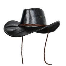Gra czerwony martwy odkupienie 2 kapelusz kowbojski Cosplay Morga Western Vintage skórzany kapelusz kowbojski Punk Cap przebranie na karnawał kapelusz Unisex
