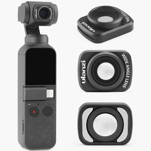 Image 5 - Ulanzi Op 5 Large Wide Angle Lens For Osmo Pocket,Professional Hd Magnetic Structure Lens Osmo Pocket Accessories