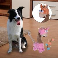 Dog Chew Toys for Small Large Dogs Bite Resistant Dog Squeaky Toys Interactive Squeak Puppy Dog Toy Pets Supplies