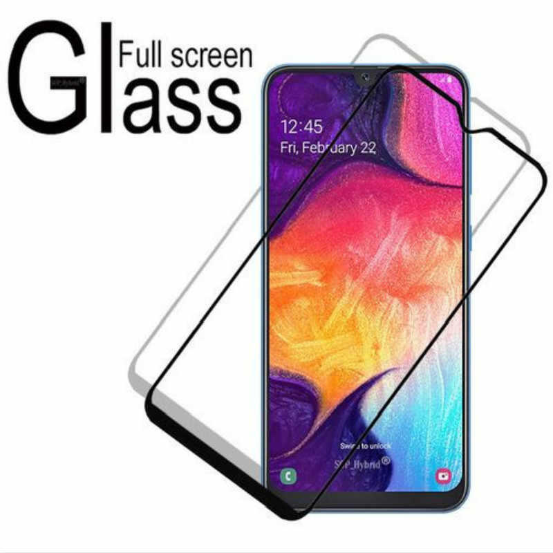 Tempered Glass For Samsung A30 A50 A6 A8 J4 J6 plus A7 2018 M10 M20 M30 Protective Film For Galaxy A20E A40 A70 A90 Glass Cover
