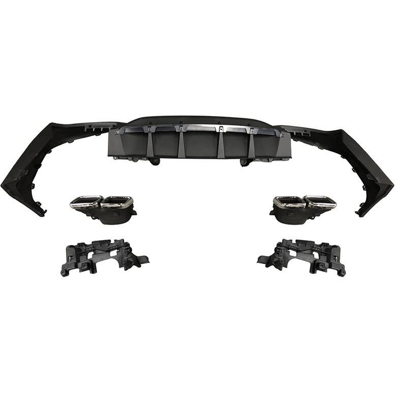 Rear Diffuser tuning Car Decoration Modification Upgraded Front Lip Bumpers protector 16 17 18 FOR Mercedes Benz GLC Class