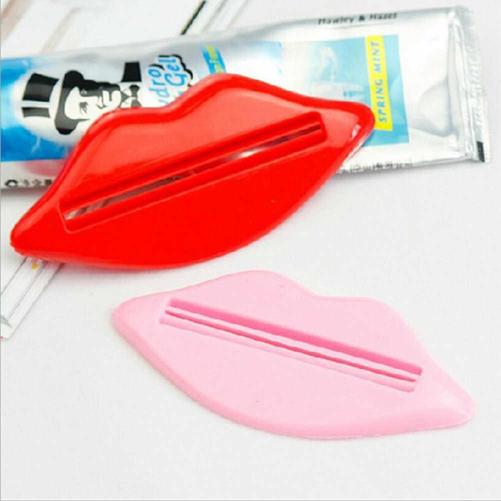 5 stücke Sexy Lip Kuss Zahnpasta Dispenser Rohr Squeezer Multifunktionale Squeezer Für Zahnpasta Creme Bad