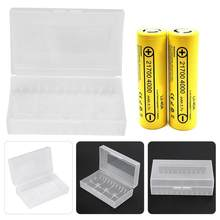 2PCS 2*20700/21700 Battery Box Container Waterproof Battery Storage Box NOT INCLUDING BATTERY 2019 Hot(China)