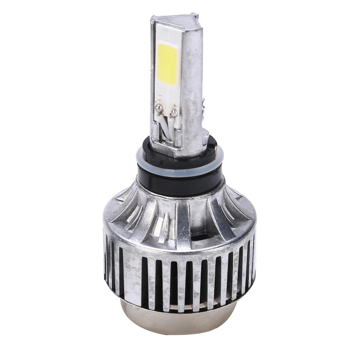 Treyues 1 Set H4 BA20D Hi Lo 40W 26W Beam Motorcycle Headlight 6500K LED High Quality Front Lamp Bulb