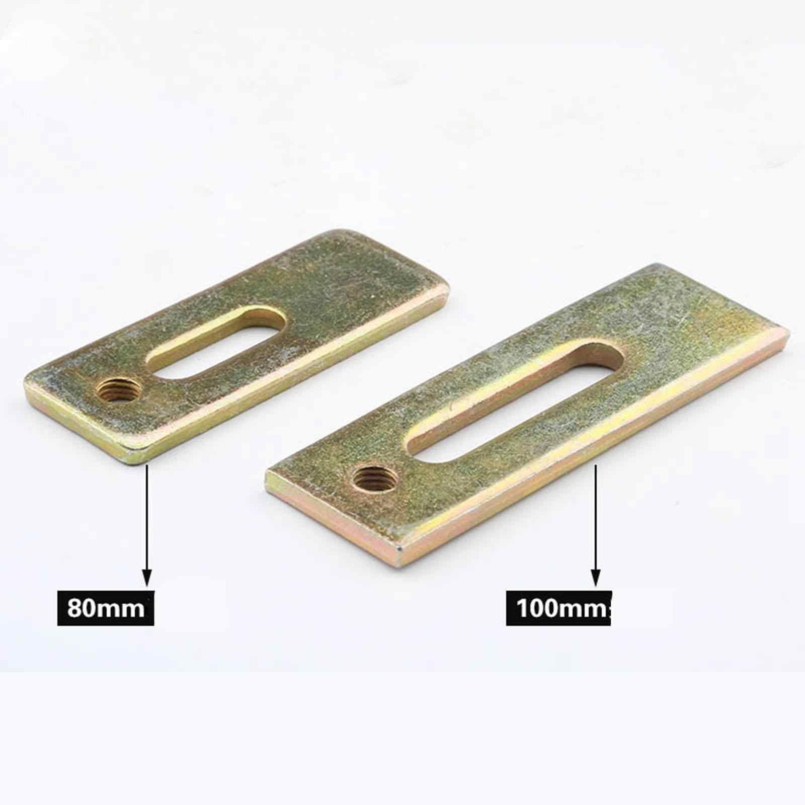 Ensemble d'accessoires de montage de plaque de presse en acier de table de Machine de gravure de CNC de 80mm