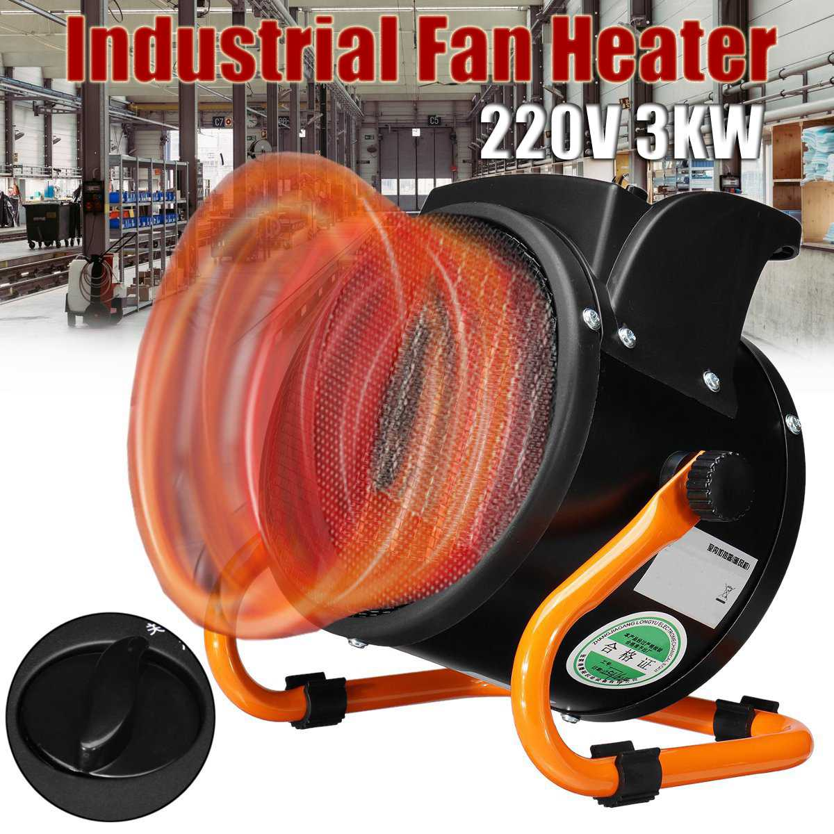 220V 3KW Newest Heater Portable Handy Durable Quality Mini Personal Ceramic Space Heater Electric Winter Warmer Fan