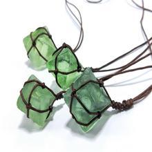 Natural Handmade Blue-Green Gemstone…