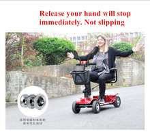 Safe and convenient elderly disabled scooter electric wheelchair