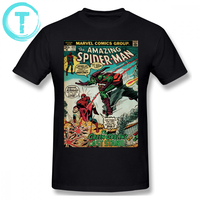34b3039e2 Spiderman T Shirt The Amazing Spider Man Logo T Shirt 4xl Cotton Tee Shirt  Graphic Fashion