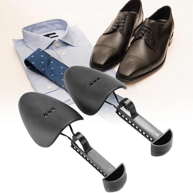 1 Pair Nhựa Giày Băng Giày Cây Mở Rộng Rộng Giày Căn Hộ Hỗ Trợ Thiết Bị Giày Thể Điều Chỉnh Cáng cho Nam Giới Phụ Nữ