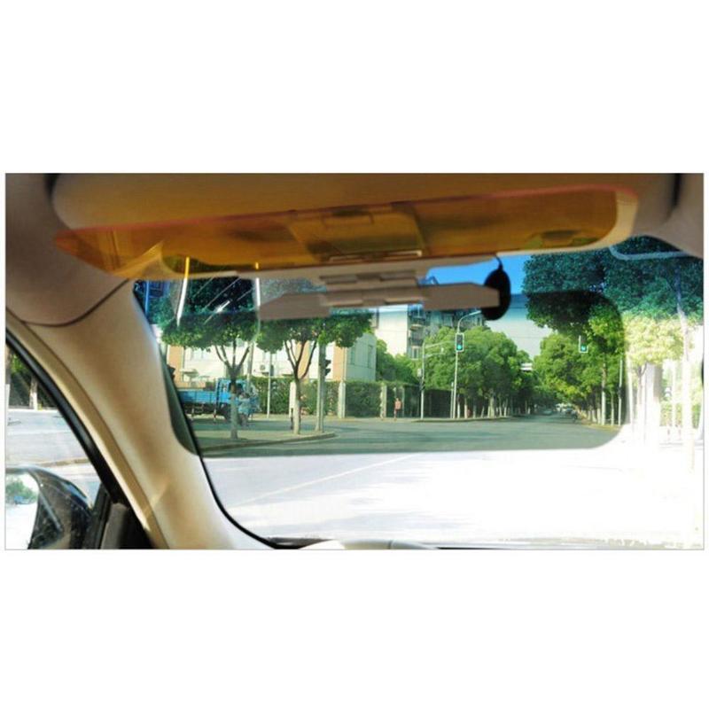 Auto Sonnenblende HD Anti Sonnenlicht Dazzling Goggle Tag Nacht Vision Rückspiegel UV Falten Flip Unten Clear View Dropshipping