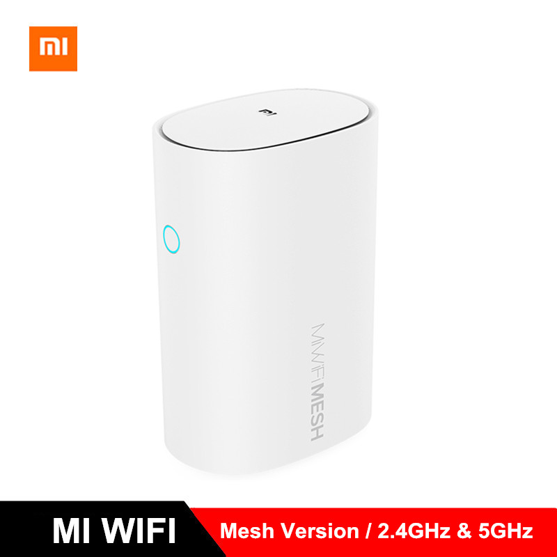 2019 2pcs Xiaomi Mi WiFi Mesh Router 2.4GHz 5GHz High Speed 4 Core CPU 256MB Gigabit Power Max 3 Repeater Smart Network Version