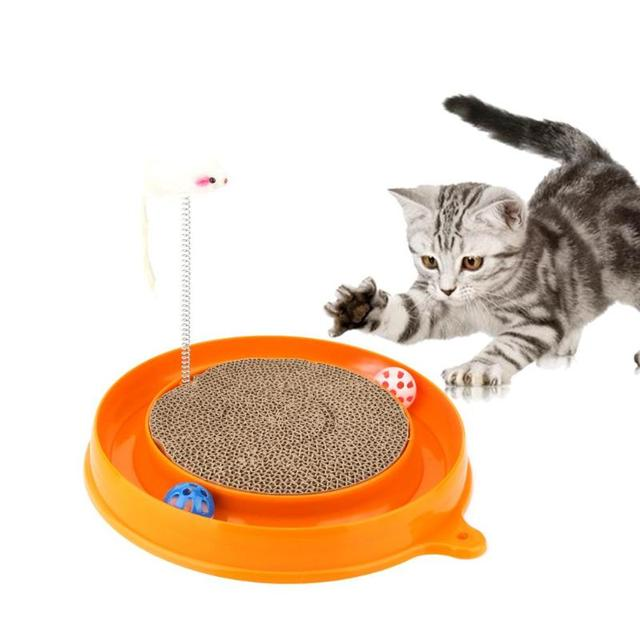 Cat Feeding Board with Mouse 2