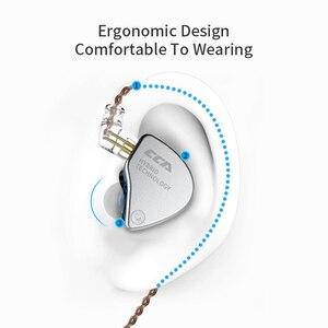 Image 3 - CCA CA4 In 1DD + 1BA Ohr Kopfhörer Monitor Lautsprecher Metall Hybrid Technologie Ohrhörer Sport Noise Bluetooth Kabel Headset