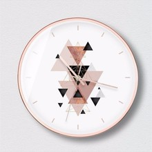 New 12 Inch Wall Clock Living Room Modern Silent Quartz Large Size Creative Big Round Design For Home