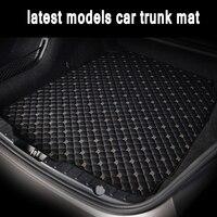 Custom fit auto Stamm matten spezielle für Audi A6 S6 C5 C6 C7 Allroad Avant 5D auto styling teppiche teppich boden liners (1997 heute) -