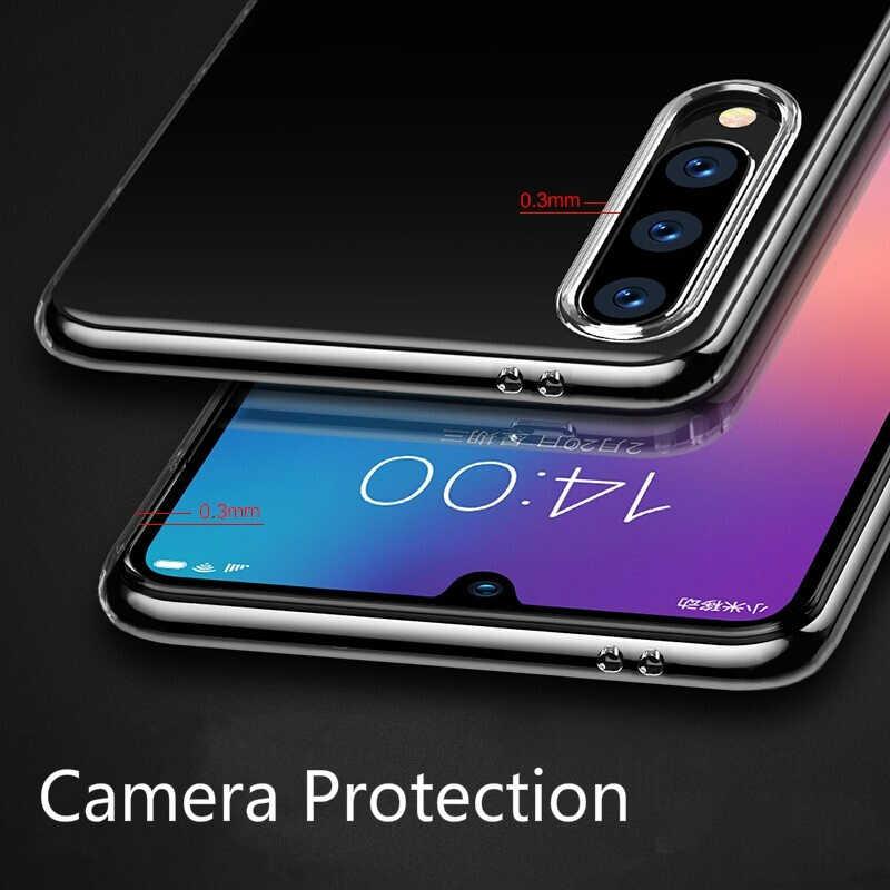 Gel transparent pour Xiaomi Mi9 Mi8 Lite 6X 5X MAX3 pour Redmi Note7 Note6Pro 6A S2 4X Note5A Protecteur couvercle de téléphone flexible en polyuréthane thermoplastique