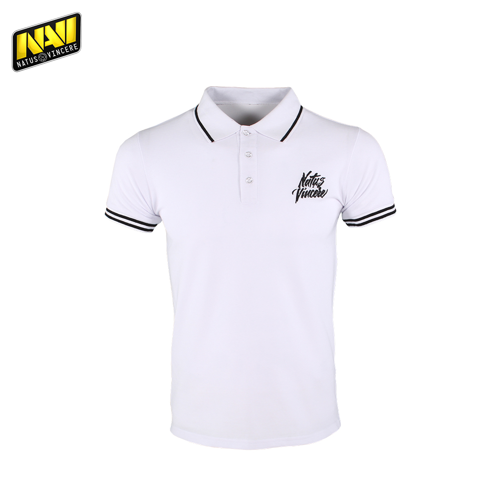 Фото - Polo Shirts NATUS VINCERE FNVPOLOSH17WT0000 clothes for men brand Tops Tees Cotton Casual NAVI CS:GO Dota 2 simple esports new arrival 2017 polo fashion men bags casual leather messenger bag high quality man brand business bag men s handbag