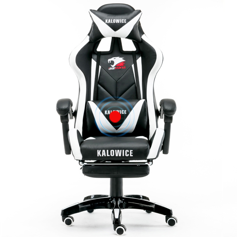 Haute qualité Wcg chaise maille ordinateur chaise chaise de jeu couché et levage personnel chaise avec repose-pieds