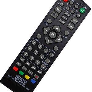Image 5 - FULL HUAYU üniversal uyumlu Tv uzaktan kumanda aleti denetleyici Dvb T2 uzaktan Rm D1155 uydu televizyon alıcısı