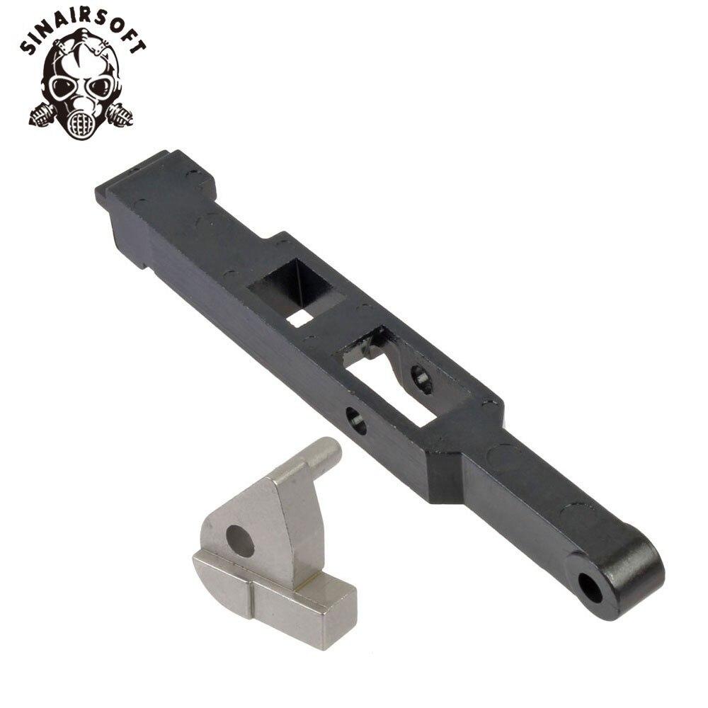 SHS Precision Steel Vsr-10 G-spec Tm L96 Bar-10 M28 Piston & Trigger Sear Set Power Metallurgy Hunting Army Paintball Accessory