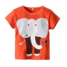 VTOM Summer  Baby T-shirts Kids Pure Cotton Short Sleeve Clothes With Quality Assurance XN37