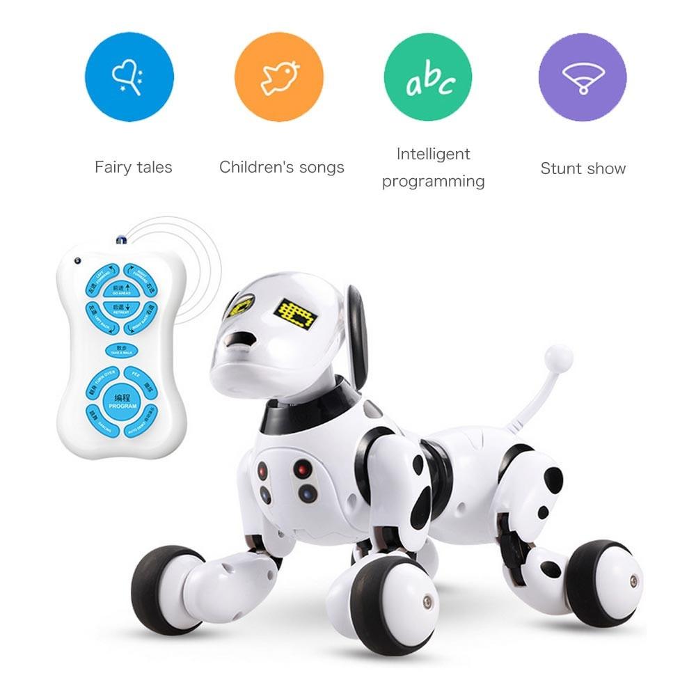 Sans fil télécommande Robot Intelligent Chien Enfants Jouet Intelligent Parler Robot jouet pour chien 2.4g animal de compagnie électronique cadeau d'anniversaire
