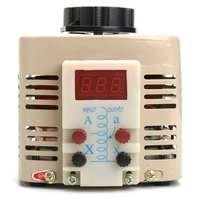 AC переменный цифровой Напряжение настраиваемый регулятор трансформатор 2A 500 Вт 220 В однофазный 0-250 В TDGC2-0.5KVA источники питания