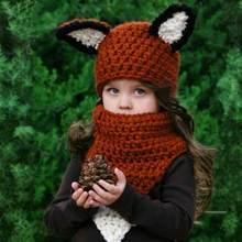 2 unids set bebé infantil traje de bufanda sombrero Otoño Invierno Crochet  chica Boy Cap Unisex de lana de punto niños bufandas . 474bc7deb1b