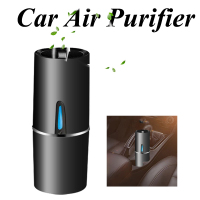 Car Air Purifier 12V Negative Ions Air Cleaner Ionizer Air Freshener Auto Remove Dust Pm2.5 Odor Air Purifier For Vehicle Car