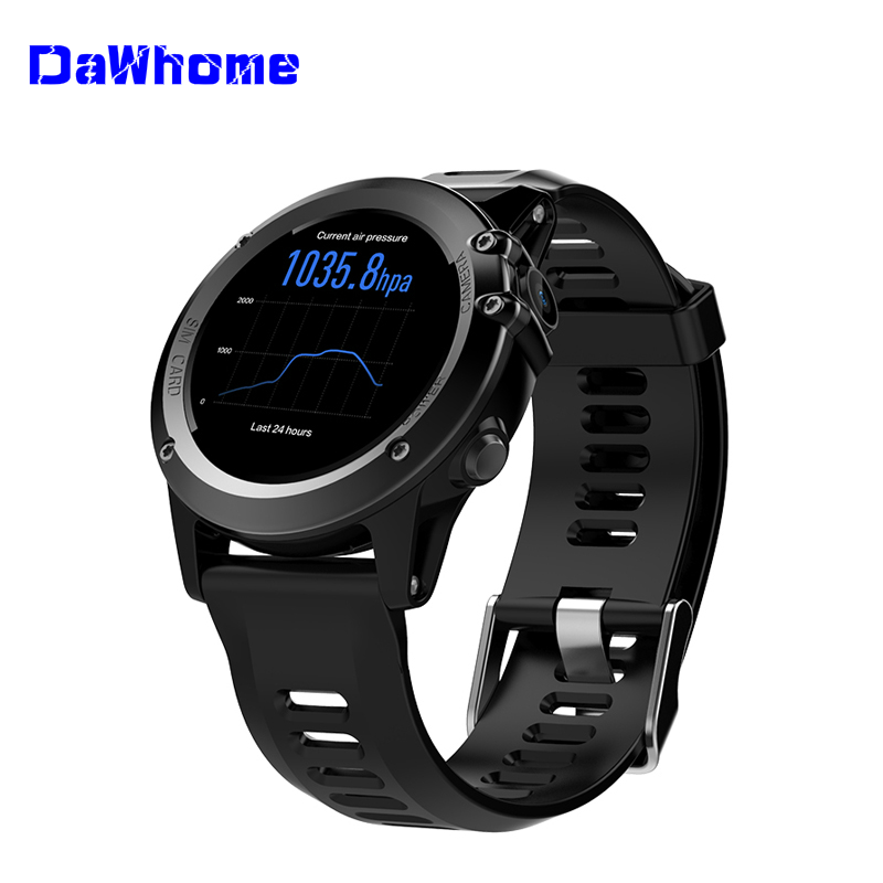 Men's Watches Special Section Dawhome H1 Smart Watch Android 4.4 Waterproof 1.39 Mtk6572 Bt 4.0 3g Wifi Gps Sim For Iphone Smartwatch Men Wearable Devices To Have A Long Historical Standing Digital Watches