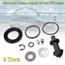 6 Torx/12 Torx зубы задний ручной тормоз двигателя комплект для ремонта суппорта для VW Passat B6 B7 CC Tiguan Q3 A4 S4 A5 S5 A6 32326315 32332267
